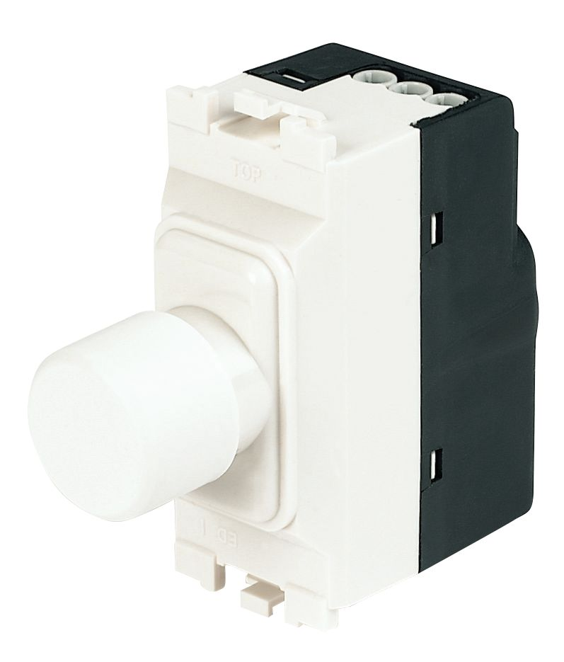 Image of MK 1-Gang Dimmer Switch Low Voltage 220W White