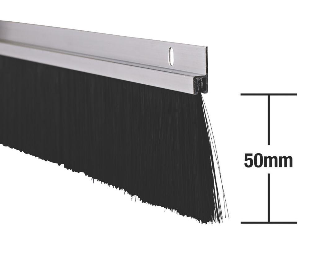 Image of Stormguard Industrial Door Seal Aluminium 1.25m 2 Pack