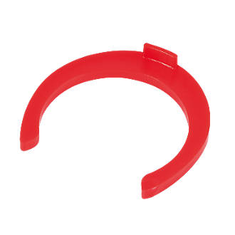Image of FloFit Flo-Fit Collet Clips Red 22mm 50 Pack