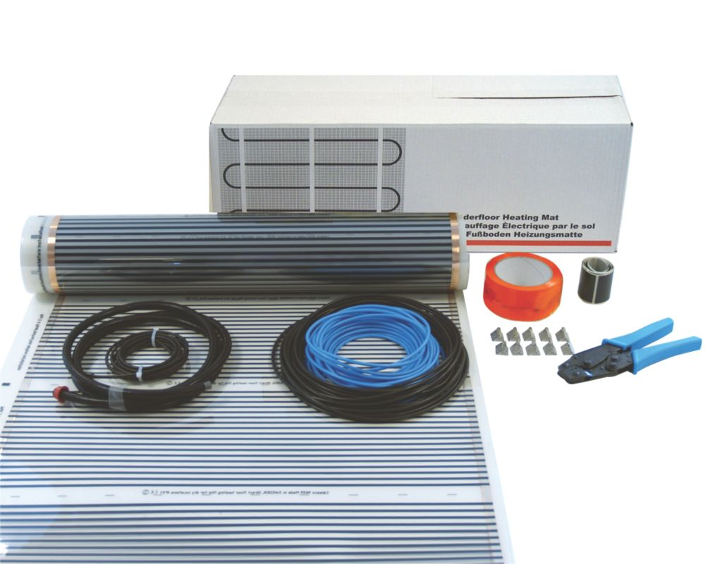 Image of Klima Underfloor Heating Foil Kit for Wooden Floor 5m