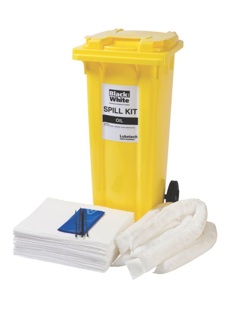 Image of Lubetech 120Ltr Black & White Oil Spill Response Kit
