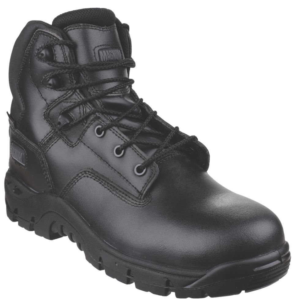 Image of Magnum Footwear Sitemaster Safety Boots Black Size 7