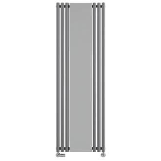Image of Terma Rolo-Mirror Designer Radiator 1800 x 590mm Grey