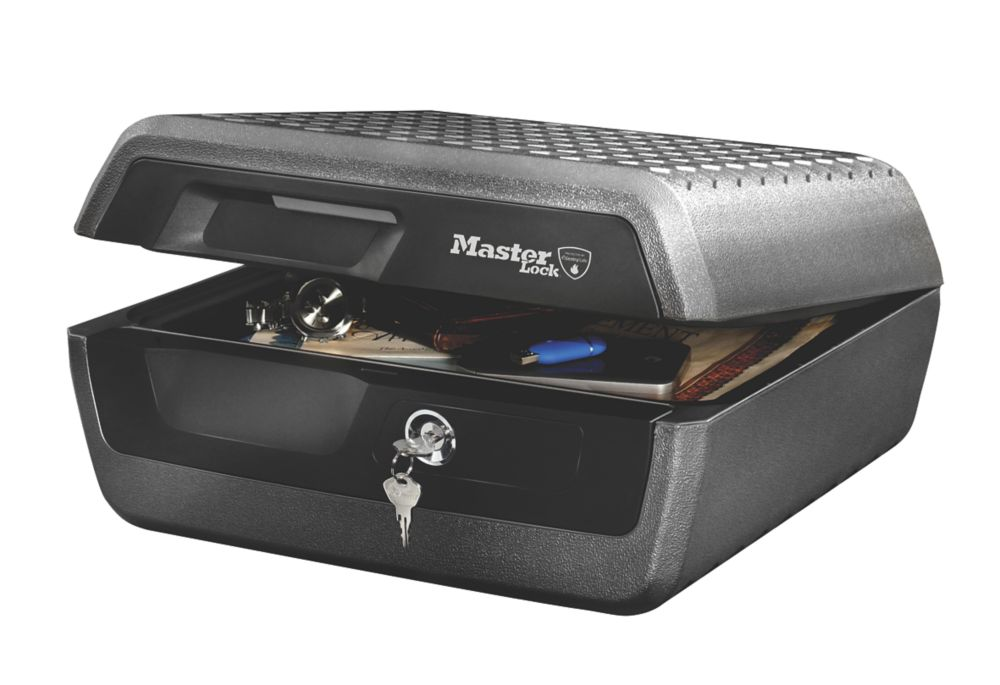 Image of Master Lock 10.2Ltr Security Fire Chest x x