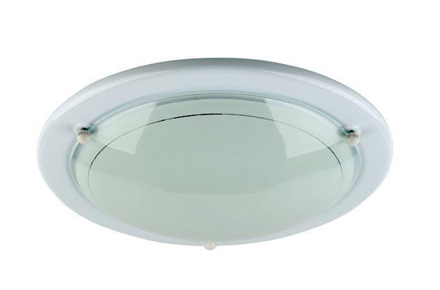 Image of Half Circular Ceiling Light White 60W