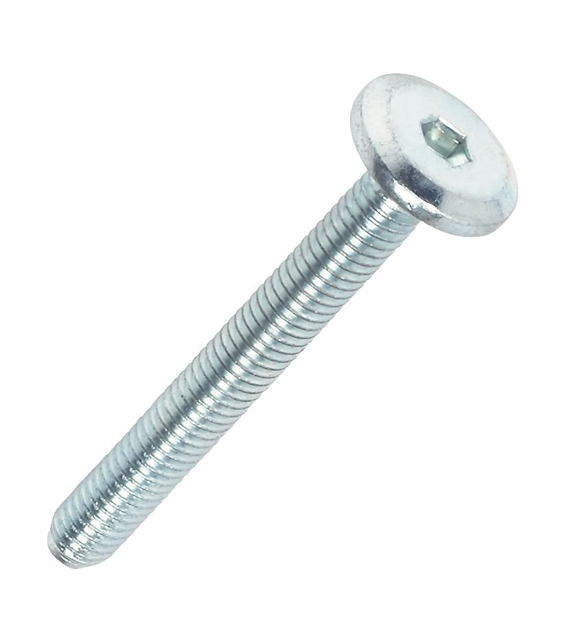 Image of Joint Connector Bolts BZP M6 x 45mm 50 Pack