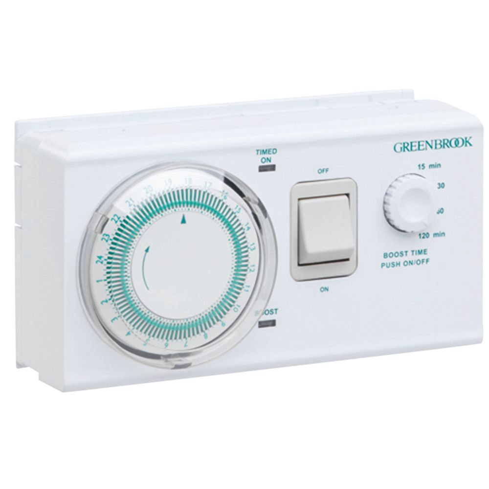 Image of Greenbrook 16A Dual Tariff Boost Timer 230V