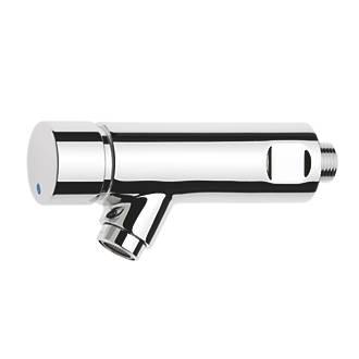 Image of Franke Aqualine-S Self-Closing Bib Hot Water Bathroom Tap