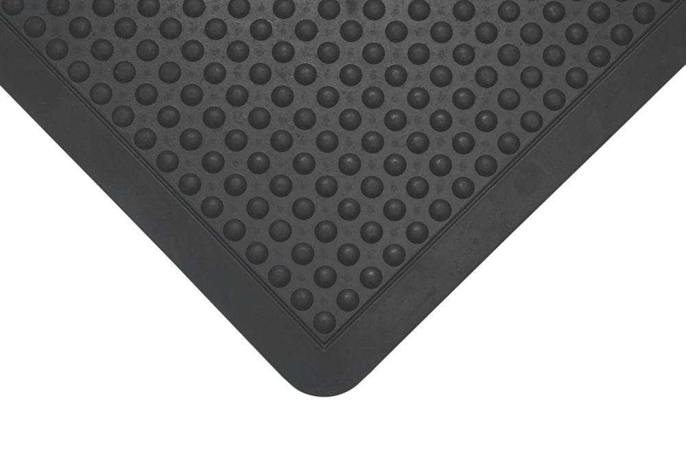 Image of COBA Europe Bubblemat Anti-Fatigue Mat Black 0.9m x 0.6m