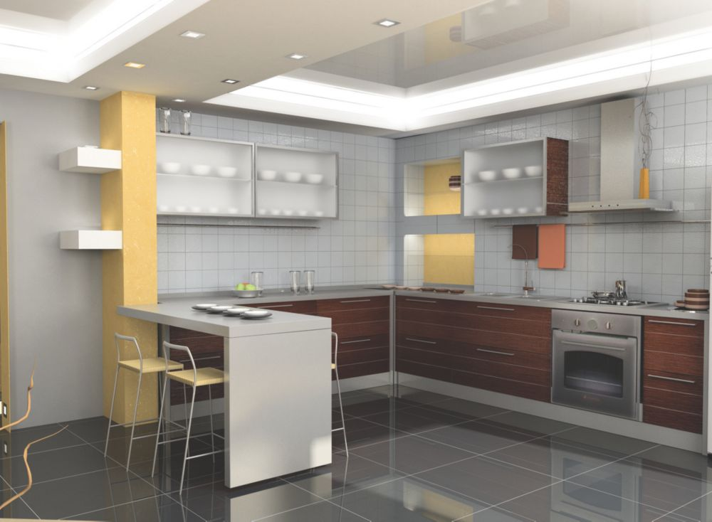Image of Apollo Slab Tech Crushed Cotton Worktop 2500 x 625 x 30mm