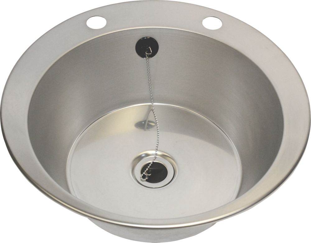 Image of Franke Inset Washbasin Stainless Steel 1-Bowl 447 x 130mm