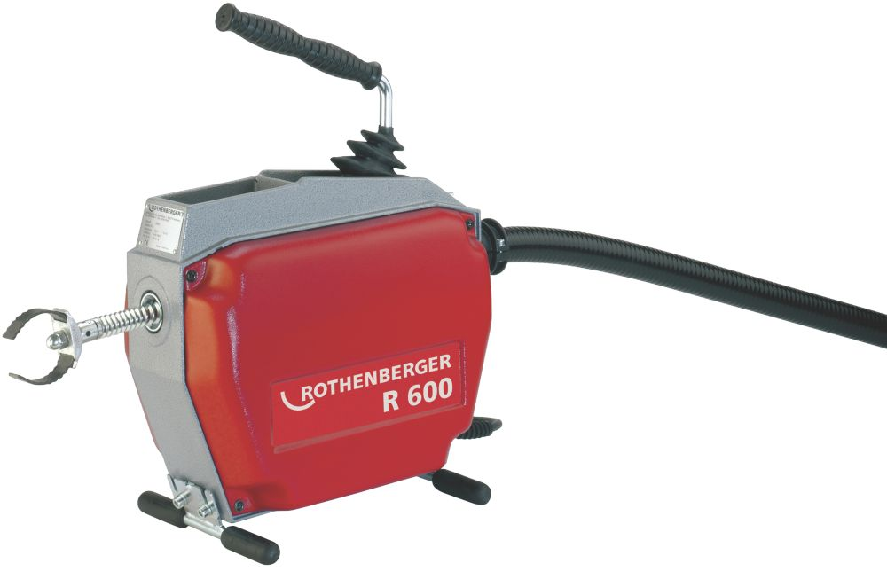 Image of Rothenberger R600 Drain Cleaner & Accessory Pack 110V