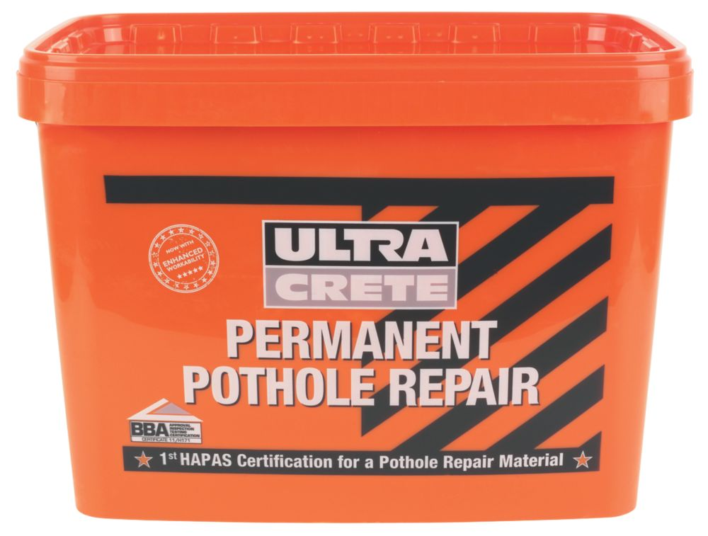 Image of Ultra Crete Pothole Repair Black 25kg