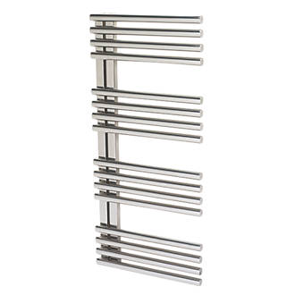 Image of Reina Adora Designer Towel Radiator 1106 x 500mm Stainless Steel