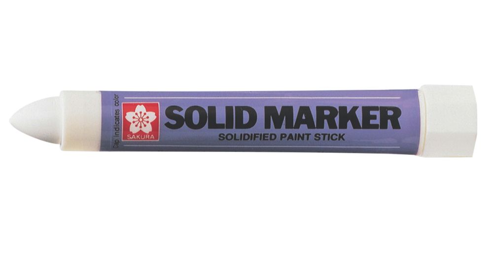 Image of Sakura White Solidified Paint Permanent Marker