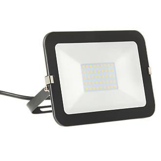 Image of Brackenheath iSpot LED Slimline Floodlight 30W Black Cool White