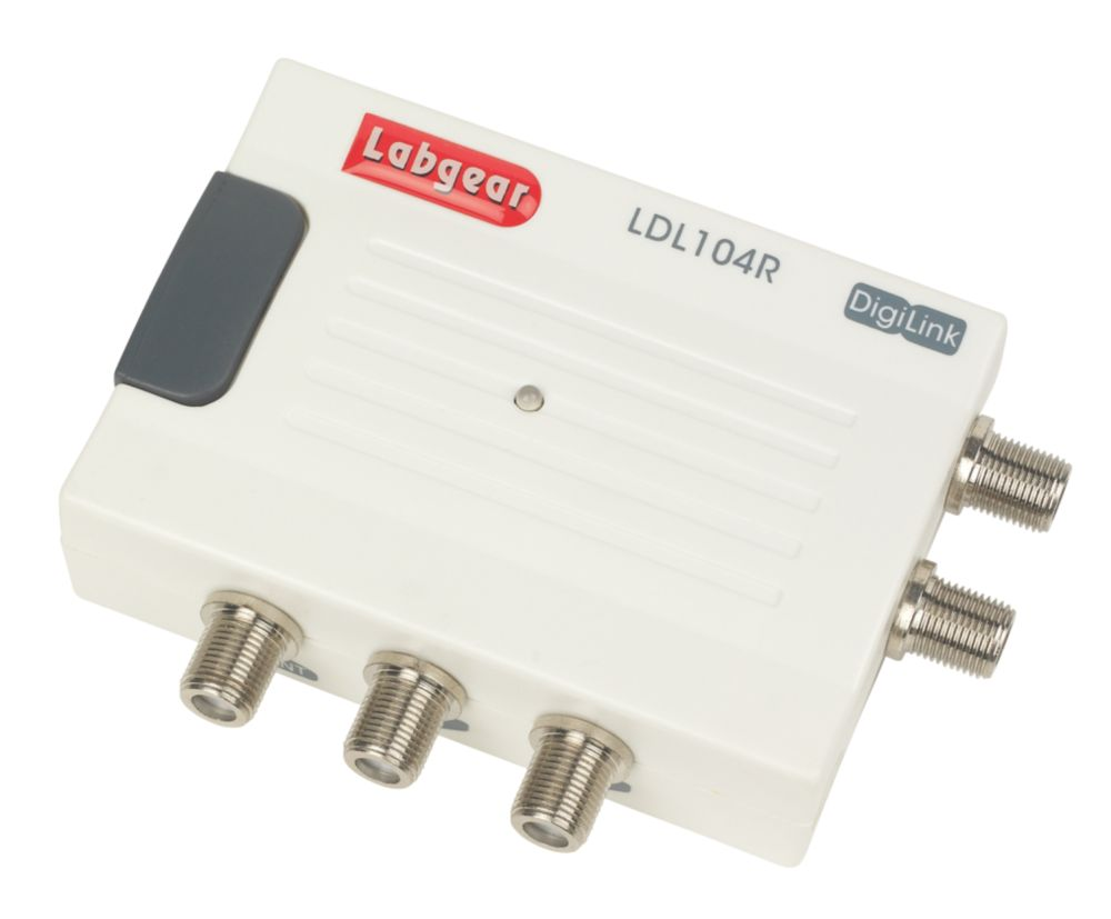 Image of Labgear Compact Aerial Amplifier 1 Input 4 Outputs with Digilink IR Return