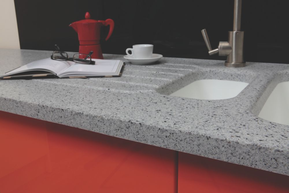 Image of Apollo Slab Tech Sea Mist Breakfast Bar 2000 x 900 x 30mm