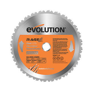 Image of Evolution Circular Saw Blade 255 x 25.4mm 28T