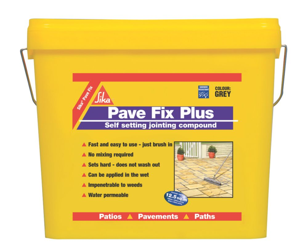 Image of Sika Pave Fix Plus Compound Grey 11Ltr