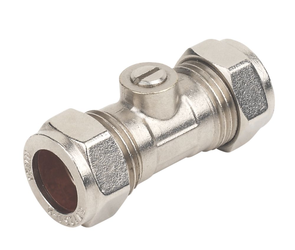 Image of Isolating Valve 15mm 2 Pack