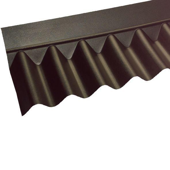 Image of Coroline Apron Flashing Black 930 x 930mm 5 Pack
