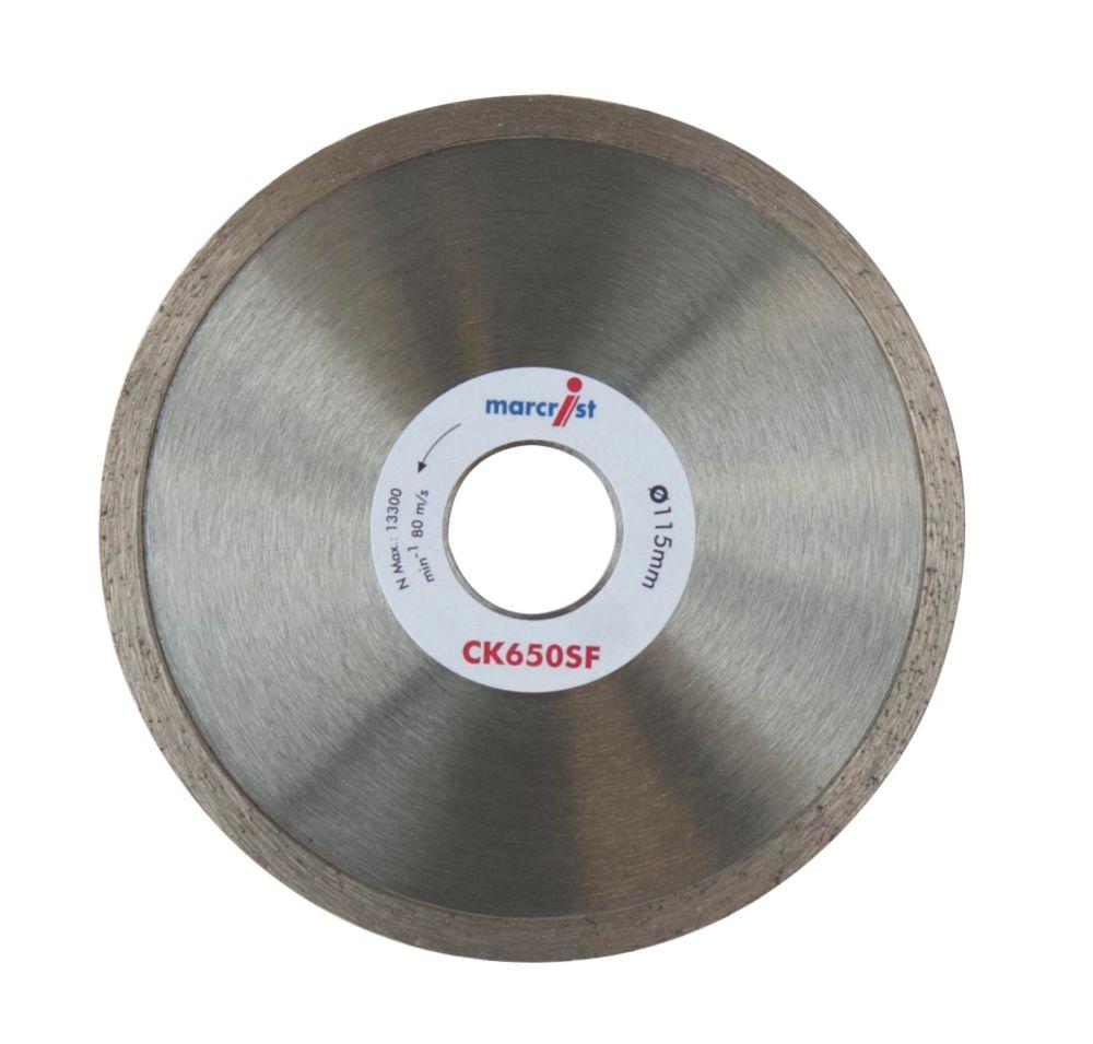 Image of Marcrist CK650SF Diamond Tile Blade 115 x 22.2mm