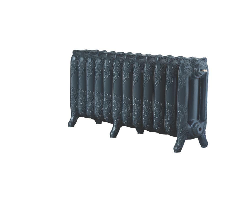 Image of Arroll Montmartre 3-Column Cast Iron Radiator Anthracite 470 x 994mm