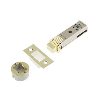 Image of Union Polished Brass Tubular Privacy Bolt 73mm Case - 57mm Backset