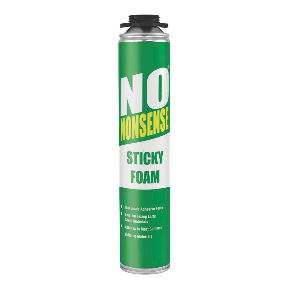 Image of No Nonsense Expanding Sticky Foam Gun Grade 750ml