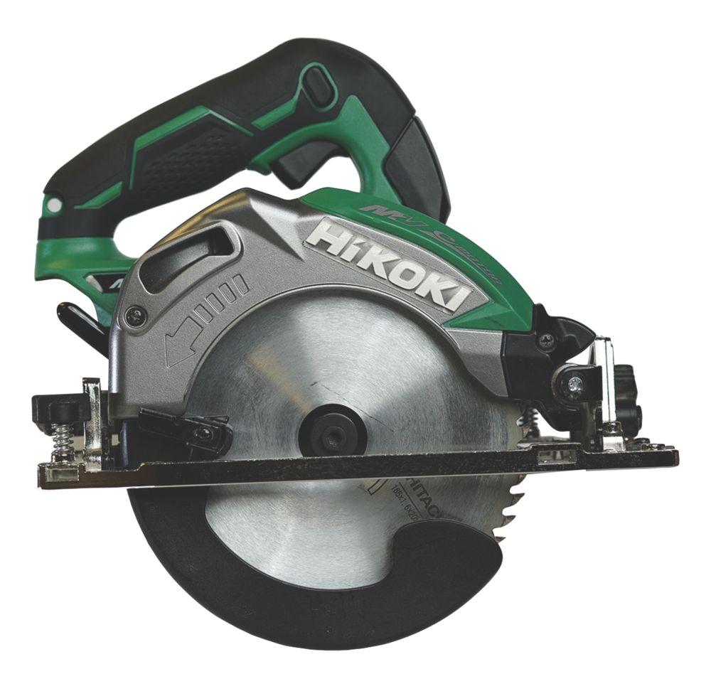 Image of HiKOKI C3606DA/J3Z 165mm 36V Li-Ion Multi Volt Brushless Cordless Circular Saw - Bare