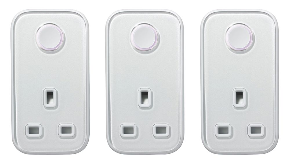 Image of Hive Active Smart Plug White 3 Pack