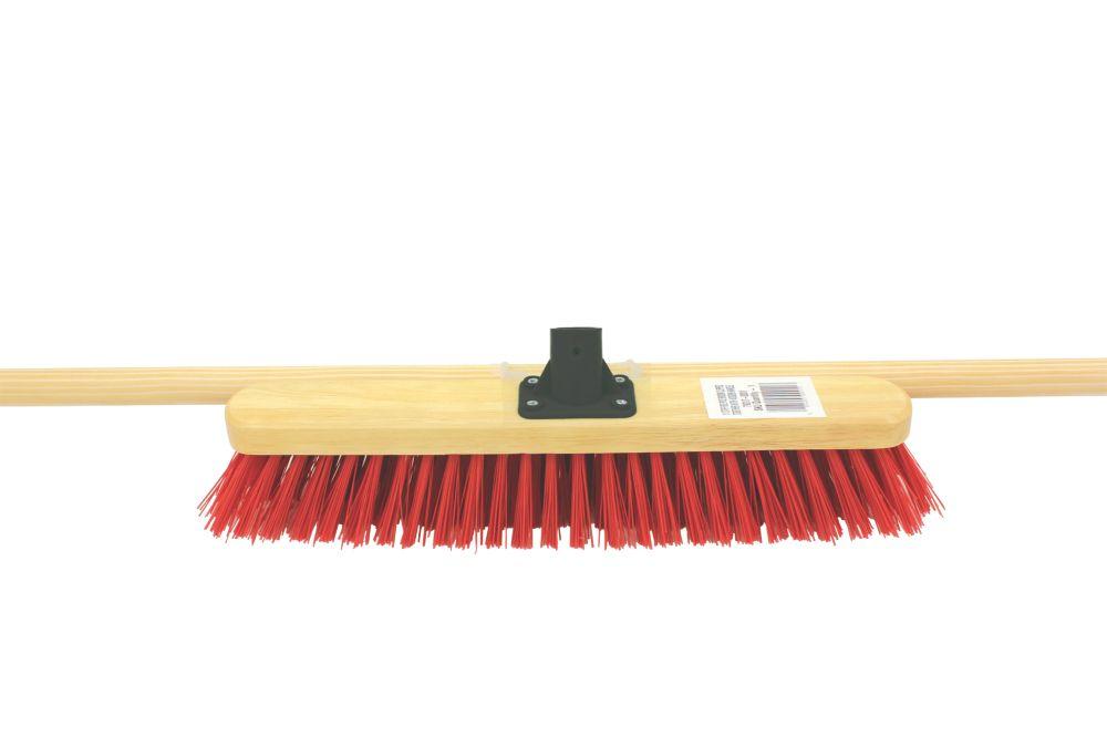 Image of Stiff Wooden Broom x 115mm