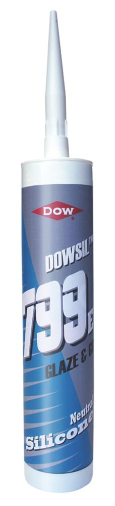 Image of Dow Corning 799 Glazing Silicone Clear 310ml