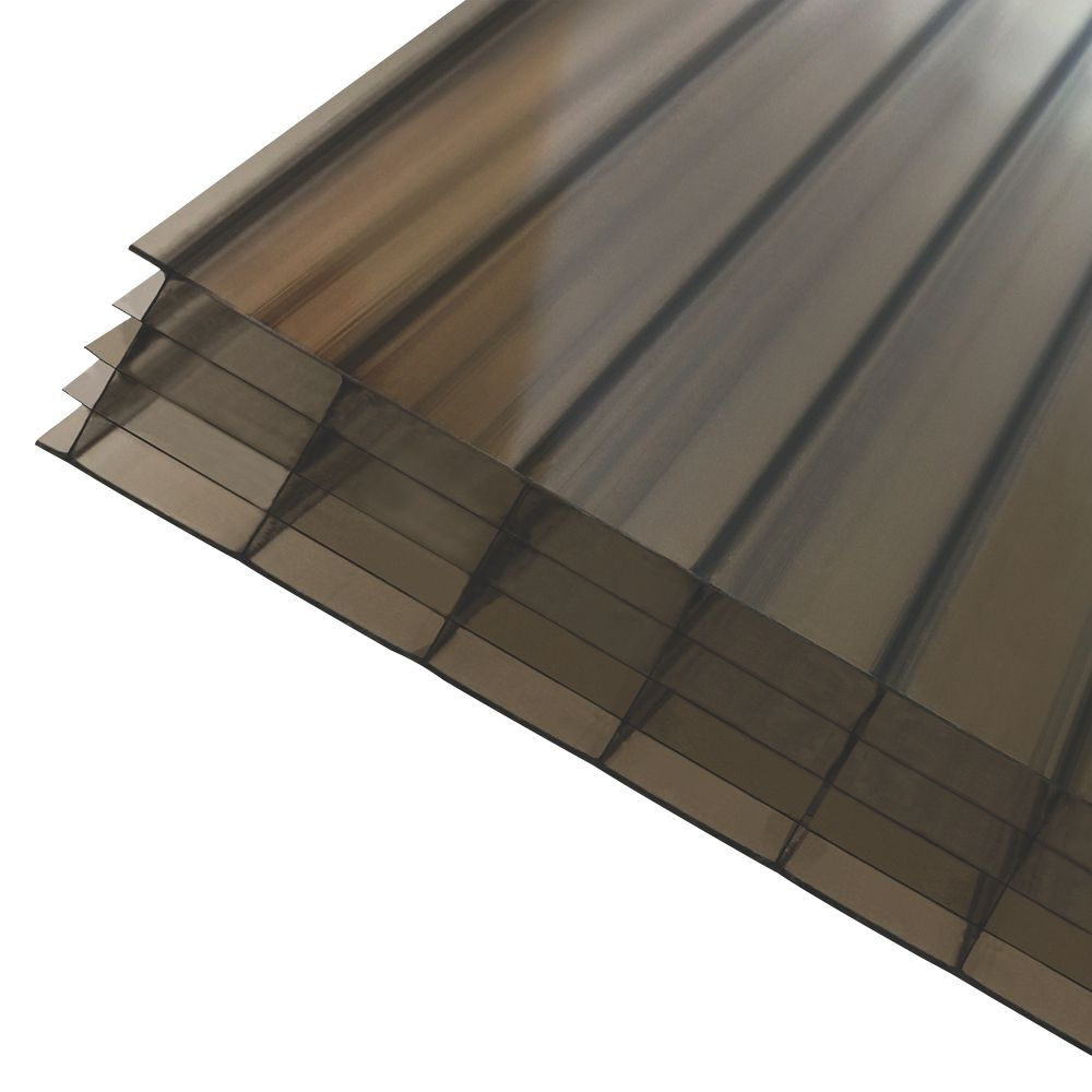 Image of Axiome Fivewall Polycarbonate Sheet Bronze 690 x 25 x 2000mm
