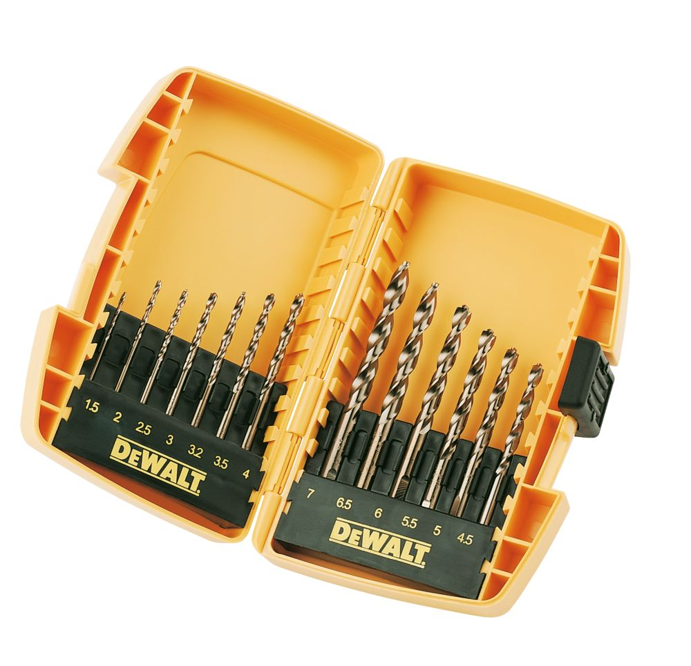 Image of DeWalt Extreme 2 HSS Drill Bit Set 13Pcs