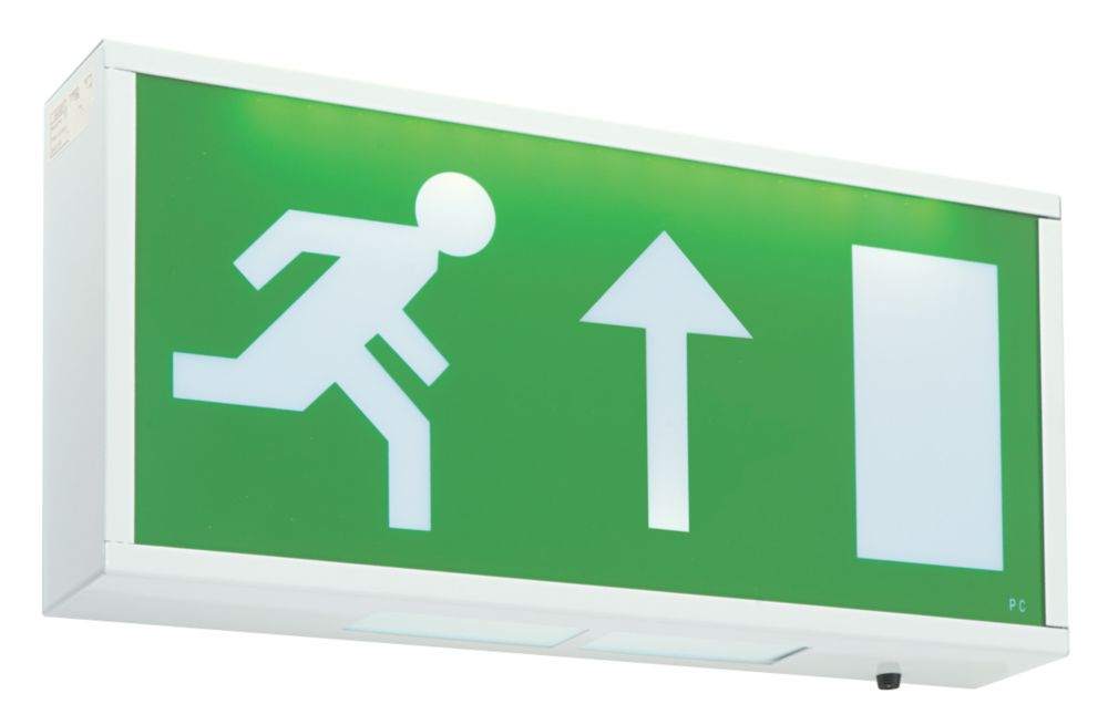 Image of LAP 3 Hour Emergency Lighting LED Exit Up Sign