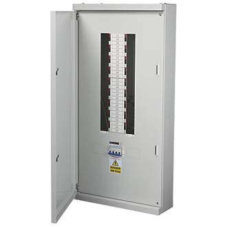 Image of Chint Nxdb 18-Way 125A TP & N Meter Ready 3-Phase Distribution Board