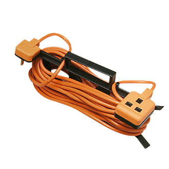 Image of Masterplug CT1510O-XD 10A 1-Gang Extension Lead 15m