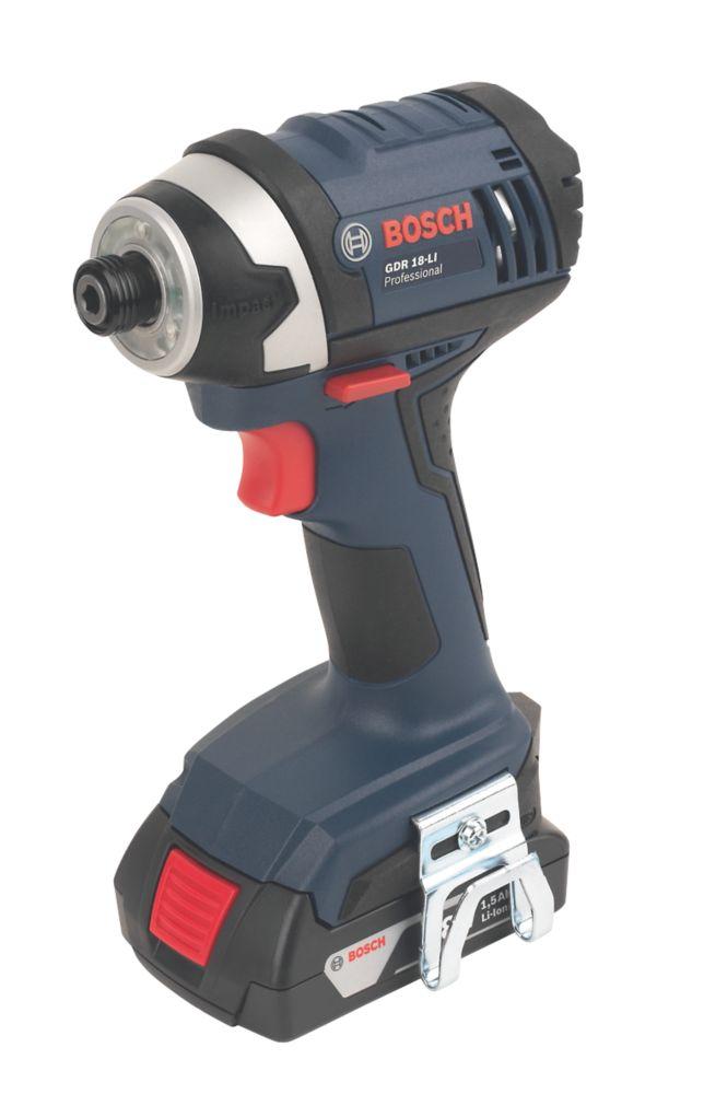 Image of Bosch GDR 18-Li 18V 1.5Ah Li-Ion Cordless Impact Driver