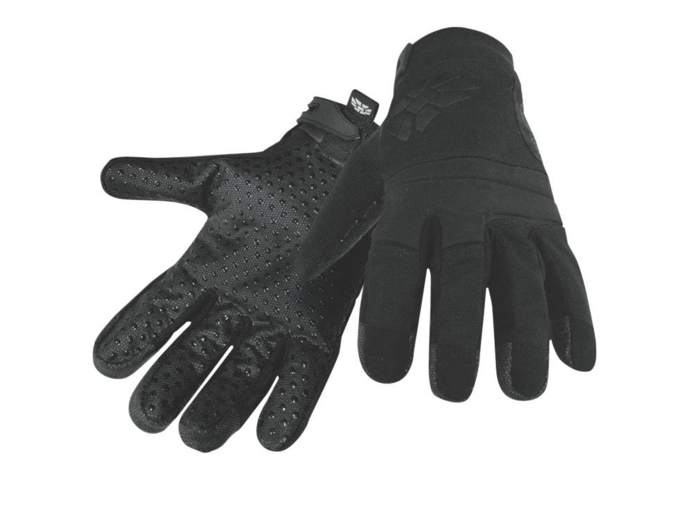Image of Polyco Hexarmor NSR 4041 Needlestick-Resistant Gloves Black Large