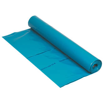Image of Capital Valley Plastics Ltd Damp-Proof Membrane Blue 1000ga 15 x 4m