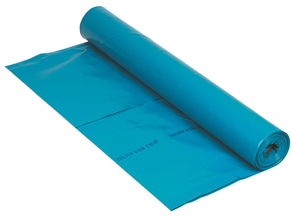 Image of DMP Damp-Proof Membrane Blue 1000ga 4 x 15m