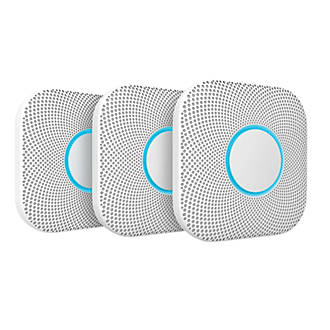 Image of Nest A13 2nd Generation Smoke & Carbon Monoxide Alarm 3 Pack