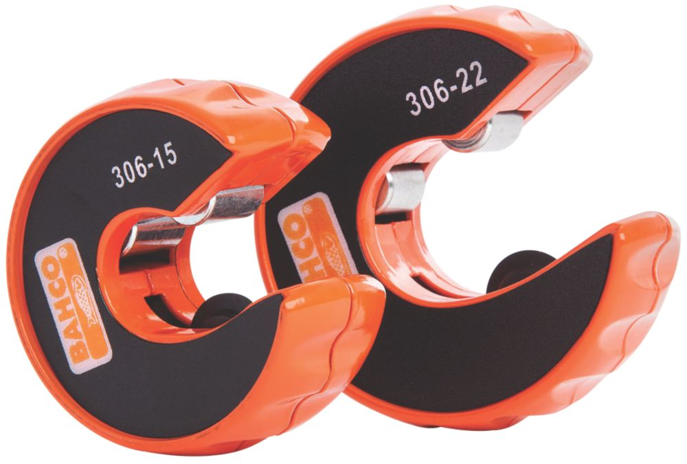 Image of Bahco Automatic Pipe Cutters 15 & 22mm Twin Pack