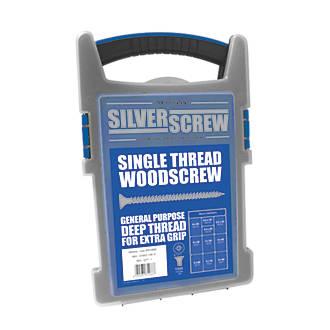 Image of Silverscrew PZ Double-Countersunk Woodscrews Grab Pack 1000 Pcs
