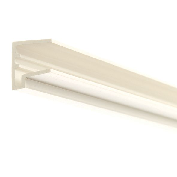Image of Corotherm PVC Sheet End Cap White