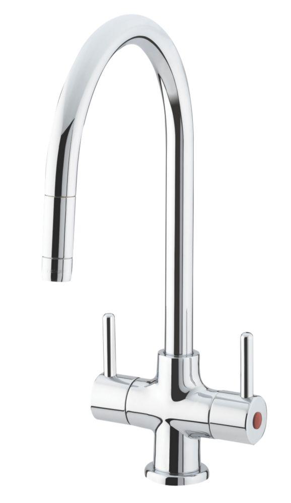 Image of Bristan Beeline Sink-Mounted Mono Mixer Kitchen Tap Chrome