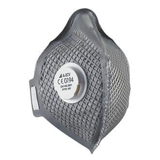 Image of Alpha Solway Alphamesh A-2CV Fold Flat Disposable Masks P2 20 Pack
