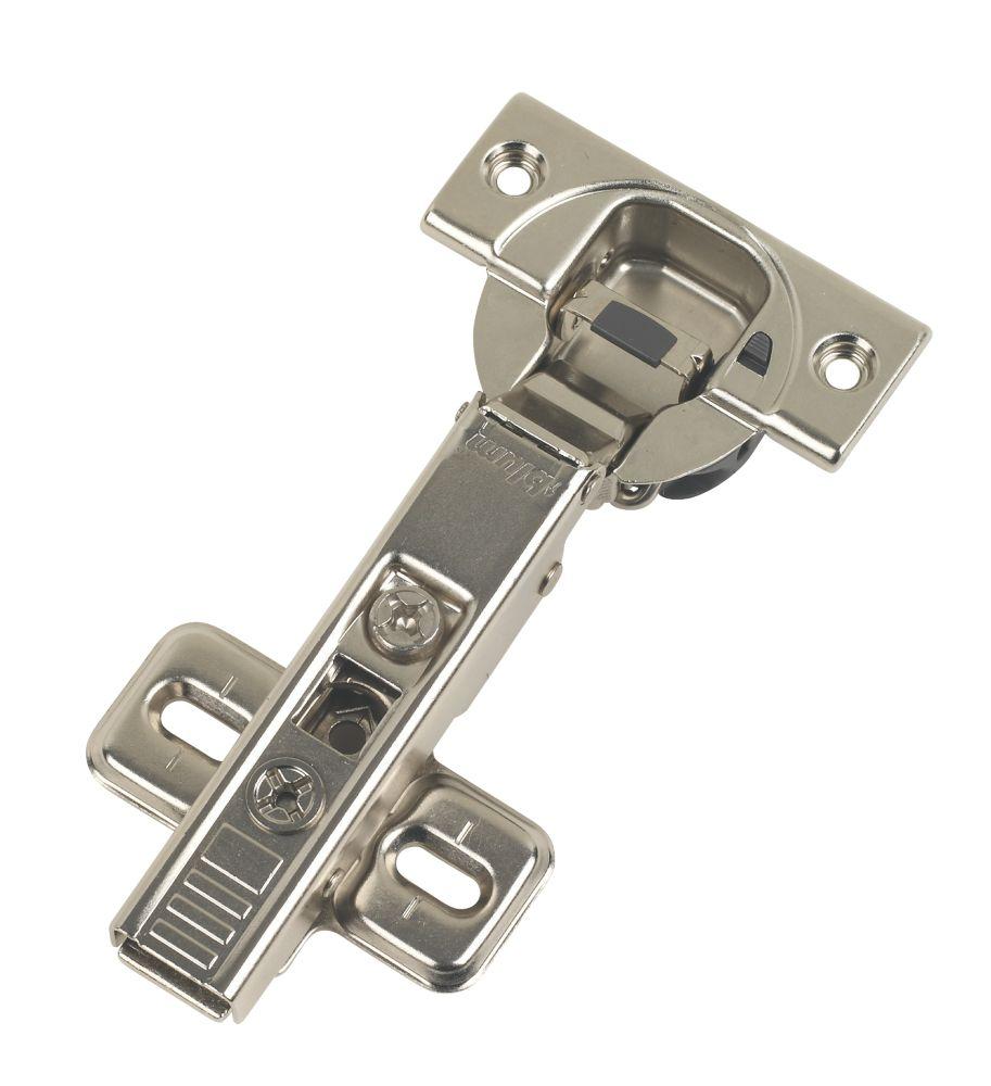 Image of Blum Blumotion Soft-Close Clip-On Concealed Hinge 110° 112mm 2 Pack